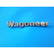 Emblema Jeep Wagonner - Doble Traccion Laterales - Camioneta