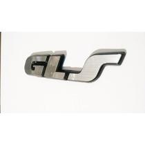 Gls Emblema Letrero Golf Jetta Filo Negro
