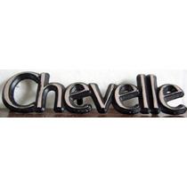 Chevrolet - Chevelle - Malibu. Emblema Leyenda Chevelle