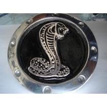 Centro De Rin Metalico Cobra Emblema Toma De Mustang Ford