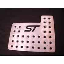 Juego Posapies Focus St Tapete Aluminio Troquelado