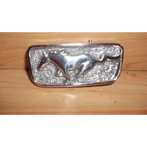 Emblema Hebilla Caballo Mustang Tomas De