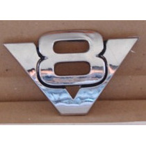 Emblema V8 Chrysler - Chevrolet - Cadillac.