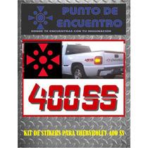 Sticker Vinil 400ss Para Chevrolet Silverado, Cheyenne, Etc