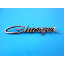 Emblema Dodge Charger Laterales Y Cajuela Años 60´s Y 70´s