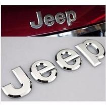 Emblema Jeep Liberty Cherokee Wrangler Rubicon Frontal Cofre