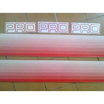 Caribe Pro Calcas Laterales Stickers En Rojo