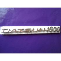 Emblema Datsun 1600 Clasico 510