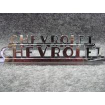 Chevrolt Pick Up 47-52 Par De Emblemas Laterales De Cofre