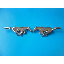 Emblemas Ford Mustang Caballos 10.5 Cm. Metalicos