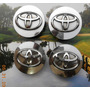Centros Rin Toyota 62 Mm Ext.x55 Mm Int. Juego 4 Piezas