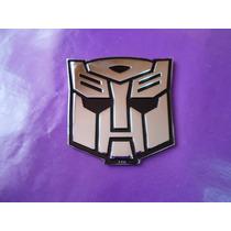 Emblema Autobot Transformers Metalico Calidad Premium Camaro