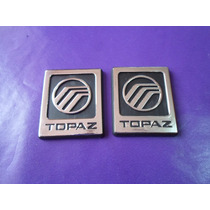 Emblemas Topaz Ford Ghia Laterales