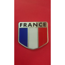Escudo Bandera De Francia Laminado