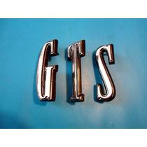 Emblema Dodge Dart Gts Letra Unitaria