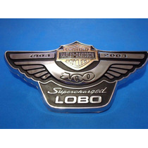 Emblema Ford Lobo 100 Años 1903-2003 Superchargerd Harley