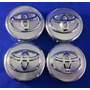 Centros De Rin Toyota Yaris Corolla 57mm 4pzas Tapones Rines