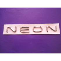 Emblema Neon Dodge Cajuela Letras