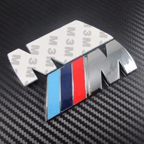 Emblema M Bmw Tuning Metal Cromado
