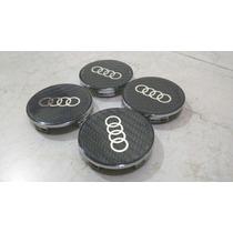 Centros De Rin Audi Fibra Carbon Rim Center Cap Tapones