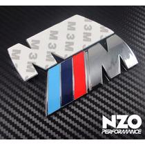 Emblema Bmw M Power Logo Autoadherible - Envío Gratis