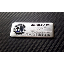 Emblema Amg Mercedes Benz Special Edition Autoadherible
