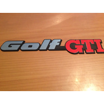 Emblema Gti A2 Mk2 Mk3 Golf Gti Nuevo