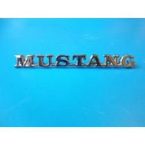 Emblema Ford Mustang 1965 - 1966 Motor 289