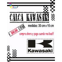 Calcomania Kawasaki Para Motos