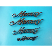 Emblemas Ford Mercury Laterales Cajuela Tablero Kit