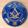 Emblema Auto Simbolo Masonico Coche Mason Masoneria Acero