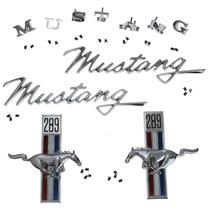 Kit De Emblemas Para Ford Mustang 289 1968