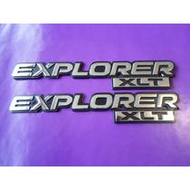 Emblemas Explorer Xlt Camioneta