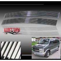Parrilla Billet Cromada Chevrolet Astro 95 - 05 Aluminio T6