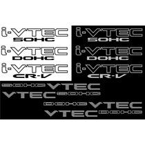 Stickers Honda Ivtec Dohc Estampas Calcomanias