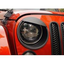 Par Cubre Luces Jeep Angry Bird Wrangler Jk Rubicon Sahara