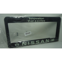 Porta Placas ,nissan Innovation That Excites ..!!!maa