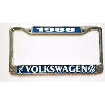 Volkswagen Porta Placa Metálico Personalizable Portaplacas