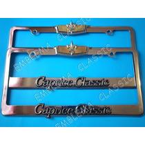 Emblemas Porta Placas Chevrolet Caprice Classic