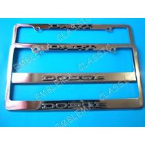 Emblemas Porta Placas Dodge Dart Clasico
