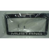 Porta Placas Mustang Letras Cromadas Ganalo...!!!!hm4