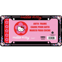 Porta Placas Hello Kitty Nuevo