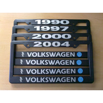 Vw Portaplacas Años Para Volkswagen.