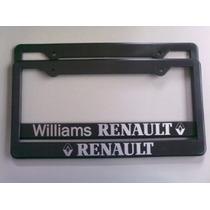 Renault Portaplaca De Plástico