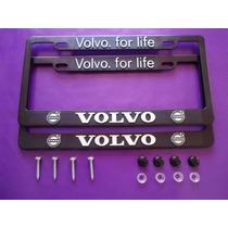 Porta Placas Volvo Reflejante Cubre Pijas Kit