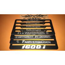 Portaplacas Volkswagen Decorativa Vw (2pzas)