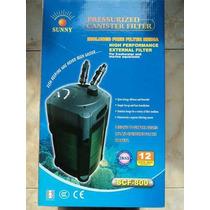 Filtro Canister Sunny Scf-800 960 L/h 250 Litros