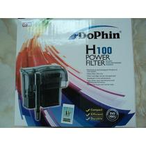 Filtro De Cascada Dolphin H-100 P/acuarios 60-120 Litros