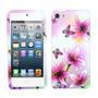 Funda Protector Ipod Touch 5 Con Flores