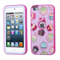 Funda Protector Triple Layer Apple Ipod Touch 5g Rosa / Past